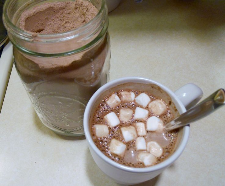 DIY Hot Chocolate Mix.