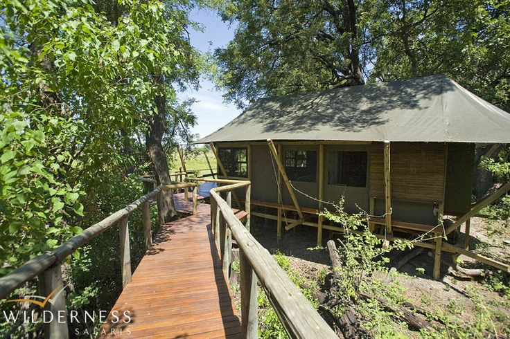 Chitabe is situated on a beautiful old tree-island in a prime location in the south-east of the Okavango Delta. #Botswana #Africa #safari