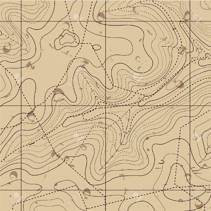 29495102-Abstract-Retro-Topography-map-Background--Stock-Vector.jpg (1300×1300)