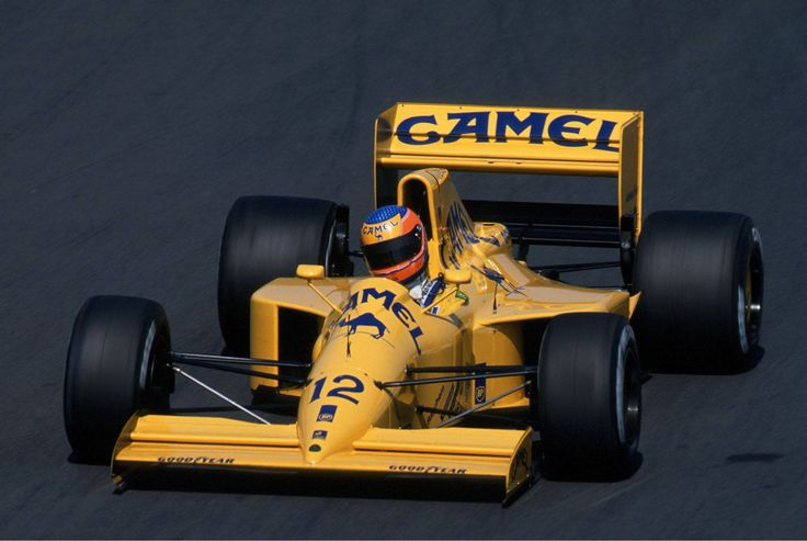 Martin Donnelly (Lotus-Lamborghini) Grand prix de Hongrie - Hungaroring 1990