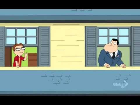 """Final scene of the 5th chapter 8th season of American Dad: """"why cant we be friends"""""""