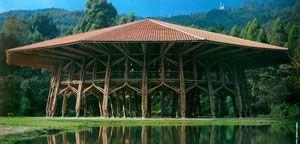 ZERI Pavilion in Manizales, Colombia. Design by Simon Velez