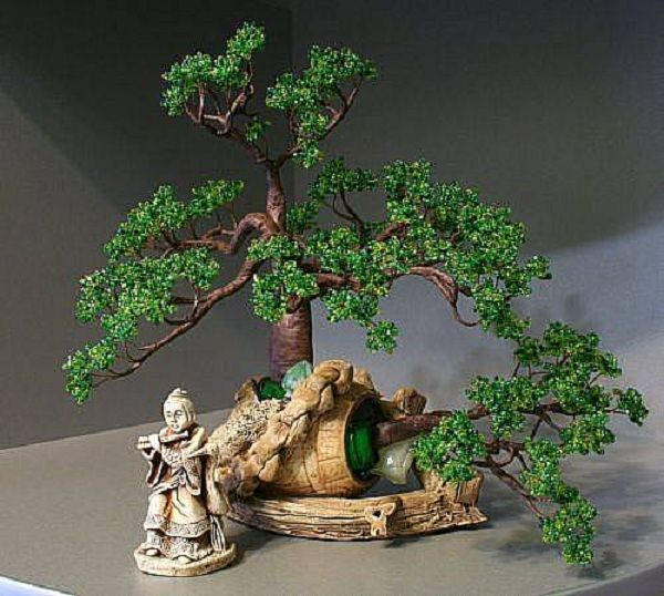 bonsai wire tree - with how to pics