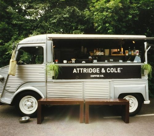 Oh So Lovely Vintage: Friday love! Coffee van