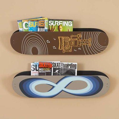 skateboard bedrooms skateboard shelves skateboard mbelskateboard schlafzimmerskateboard regaleskateboardkunstkinderzimmer - Skateboard Regal Kinder Schlafzimmer