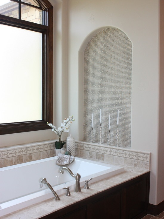 Decorating Recessed Wall Niches