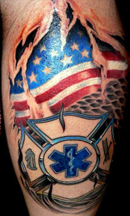 78 best firefighter emt tattoos images on pinterest firefighter tattoos fire tattoo and tatoos. Black Bedroom Furniture Sets. Home Design Ideas