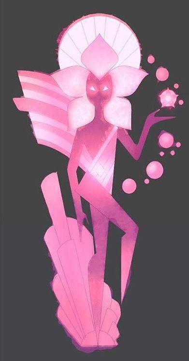 Steven universe pink diamond mirro anime pinterest diamantes