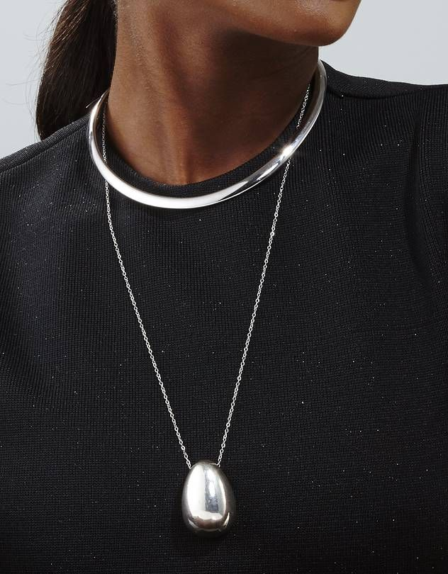 Sleek Silver Jewelry for the Corner Office