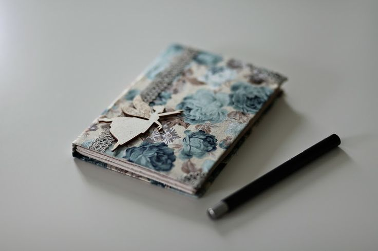 Jack Of All Trades: fabric covered notebook