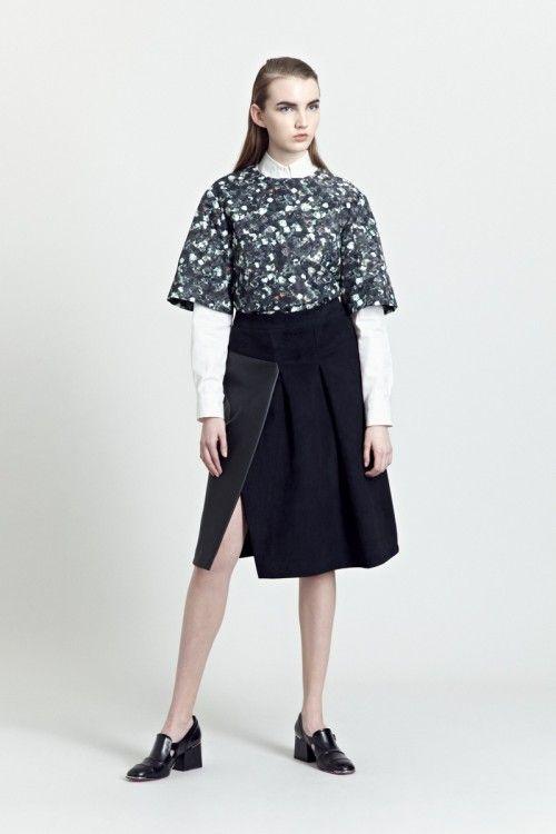 Siloa & Mook AW13: Reada Top, Agat Skirt.  #siloamook #fashionflashfinland #fashion #fashiondesigner #designer #aw13 #collection #Finland #Helsinki