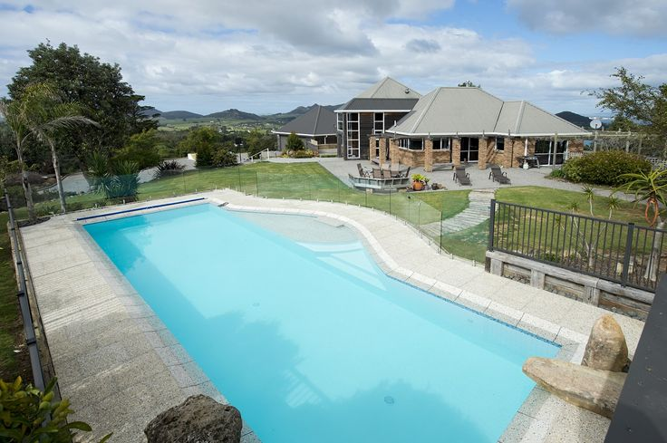 in ground  swimming pools by Mayfair Pools