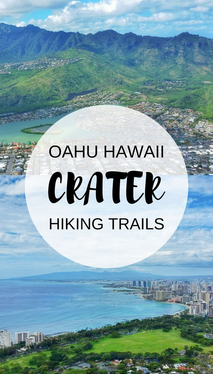 Oahu Hawaii hiking trails that are Oahu crater hikes! US hiking trails in Hawaii, tons of hikes on Oahu on Hawaii vacation on the island! Doing the best hiking trails on Oahu also gives you other things to do with nearby beaches for swimming, snorkeling, and to see turtles! List of planning tips for when in Waikiki or Honolulu. Outdoor travel destinations for the bucket list! Hiking clothes for what to wear, what to pack for Hawaii packing list! Diamond Head, Koko Head! #hawaii #oahu