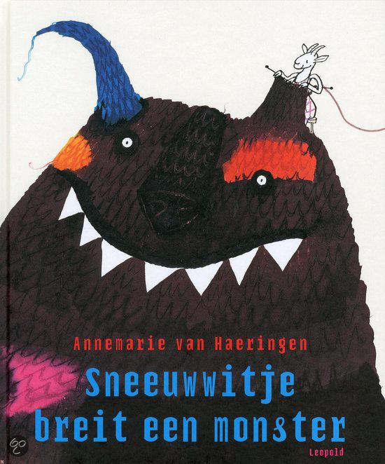 Annemarie van Haeringen - Sneeuwwitje breit een monster (4+)