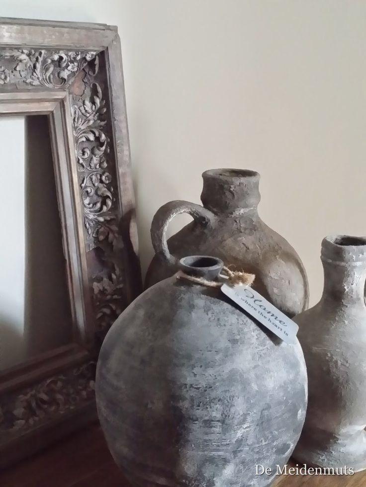 17 beste idee n over potten schilderen op pinterest verfpotten kleipotten schilderen en - Van deco ideeen ...