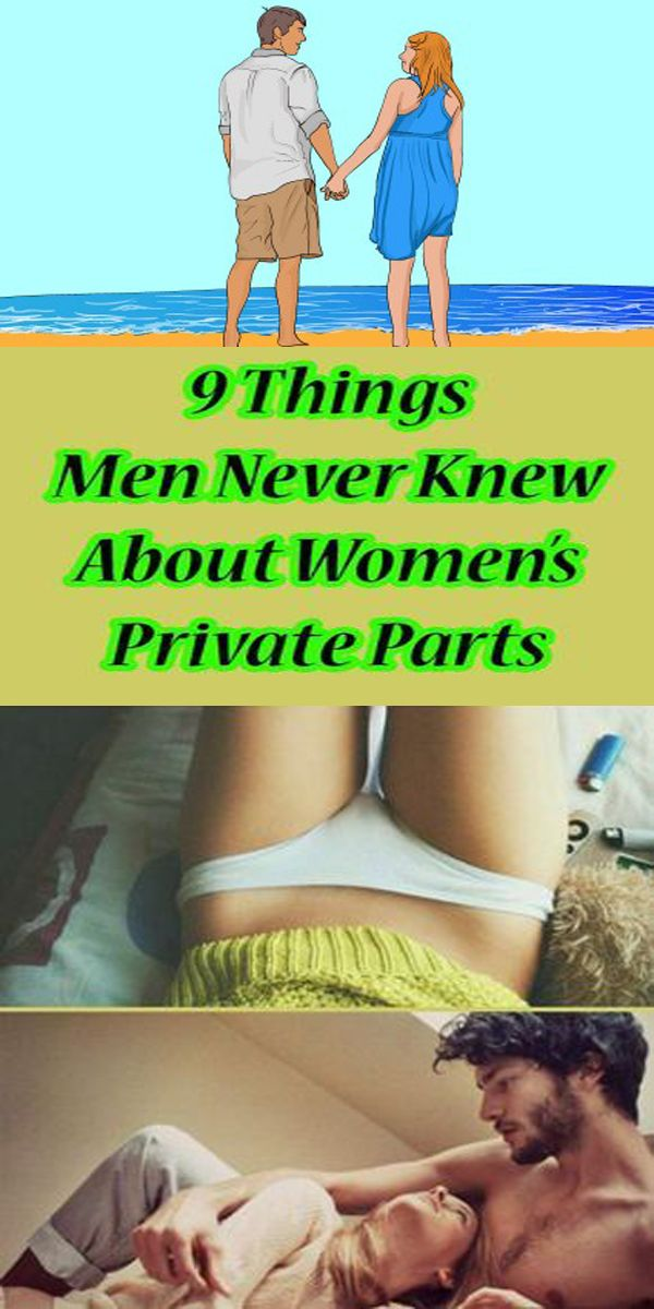 A FEW THINGS MEN NEVER KNEW ABOUT WOMEN'S PRIVATE PARTS!
