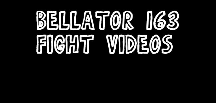 Sergei Kharitonov vs Javy Ayala Full Fight Video Bellator 163 Complete