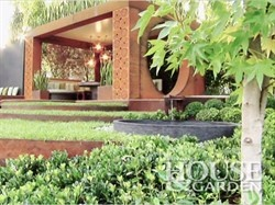House & Garden: interview with Paal Grant, Paal Grant Designs. Structural steel beams within the design are Boxspan steel beams by Spantec.