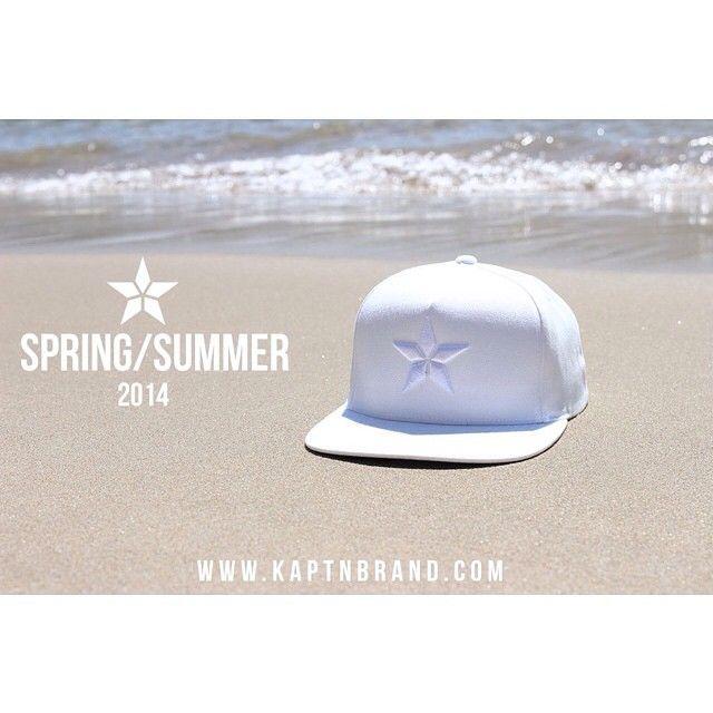 Clean -X- Crisp. #KAPTN #kaptnbrand #ss14 #collection #snapback #whiteonwhite #clean #beach #streetwear #clothing #apparel (at www.kaptnbrand.com)