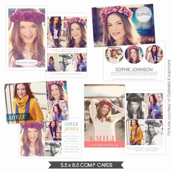 Comp Card Template Psd Download Inspirational Instant Download Modeling P Cards Shop Templates Model Comp Card Card Templates Free Card Template