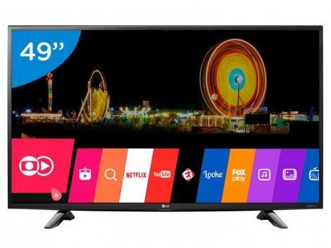 """Smart TV LED 49"""" 4K LG 49UH6100 Ultra HD com as melhores condições você encontra no site do Magazine Luiza. Confira!"""