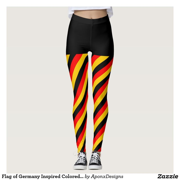 Flag of Germany Inspired Colored Stripes Pattern