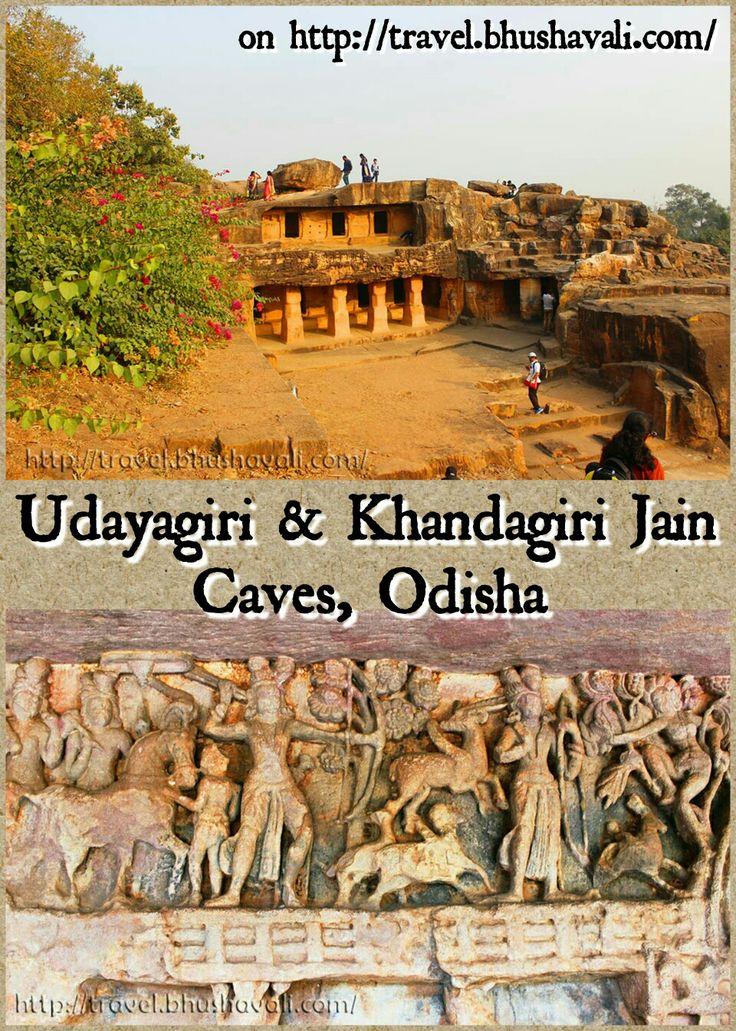 Jain Caves with stunning views & sculptures as well!!! #travelblog #photoblog #travelblogger #ttop #IncredibleIndia #VisitOdisha #Bhubaneswar #Odisha #India #Jainism #Udayagiri #Khandagiri #Caves