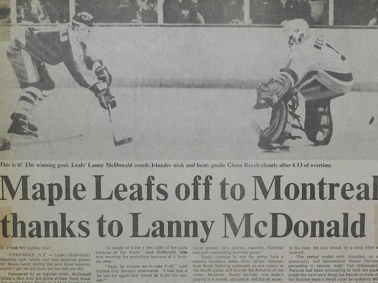 Leafs over the Islander Dynasty...