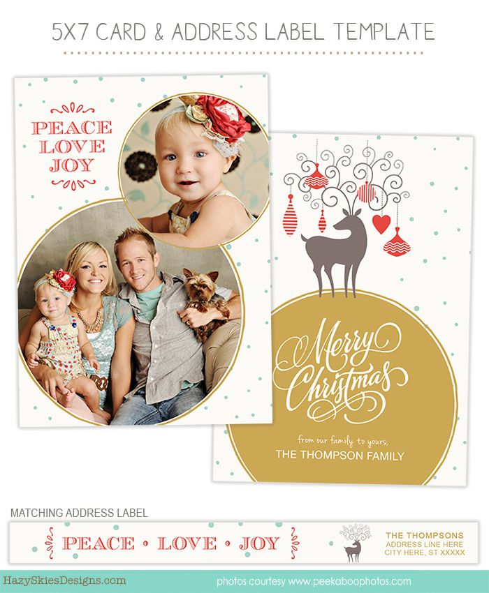 134 best Holiday Templates for Photographers images on Pinterest - christmas card templates word