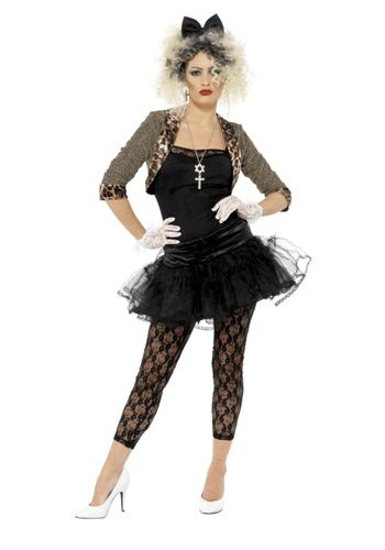 Jaren 80 outfit voor dames
