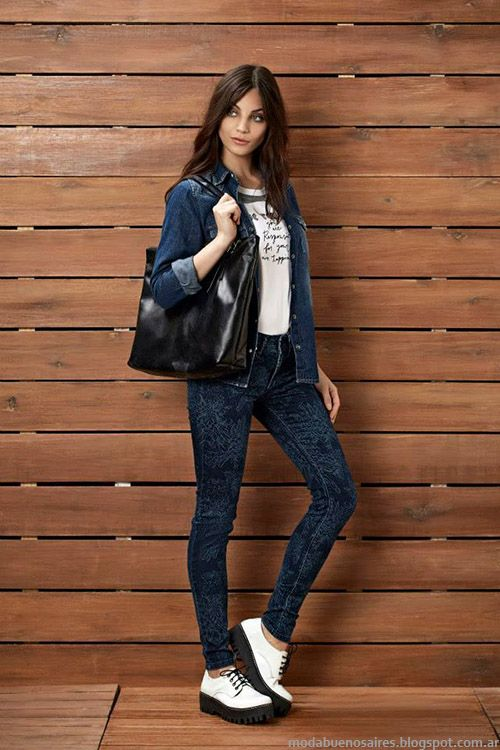 Moda Jeans Kevingston Mujer otoño invierno 2015. Moda otoño invierno 2015.