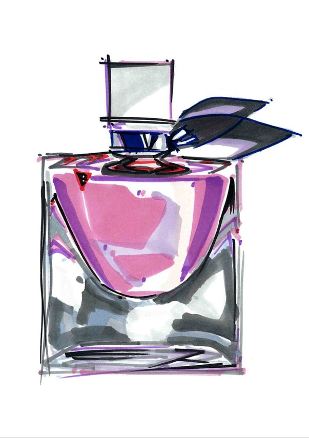 Ecole Com'Art - Arts appliqués Design Graphique - Rough parfum - http://www.comart-design.com/fr/formations/manaa-prepa - #design #draw #graphicstudent #drawing #graphicdesigner #parfum