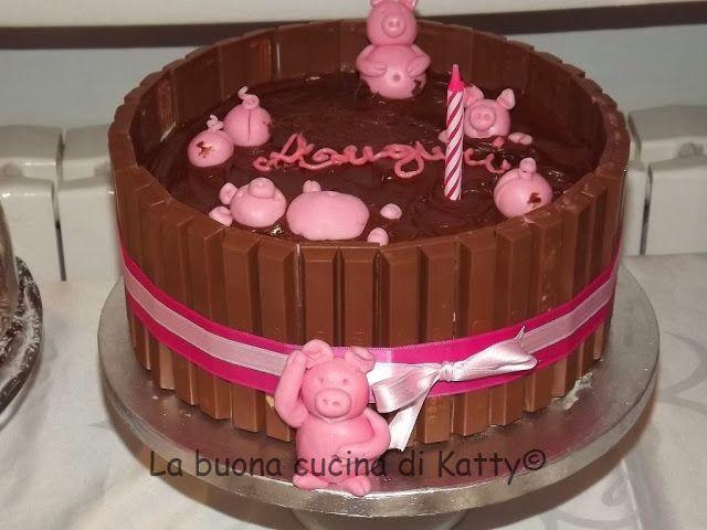 La buona cucina di Katty: Torta: maialini in allegria