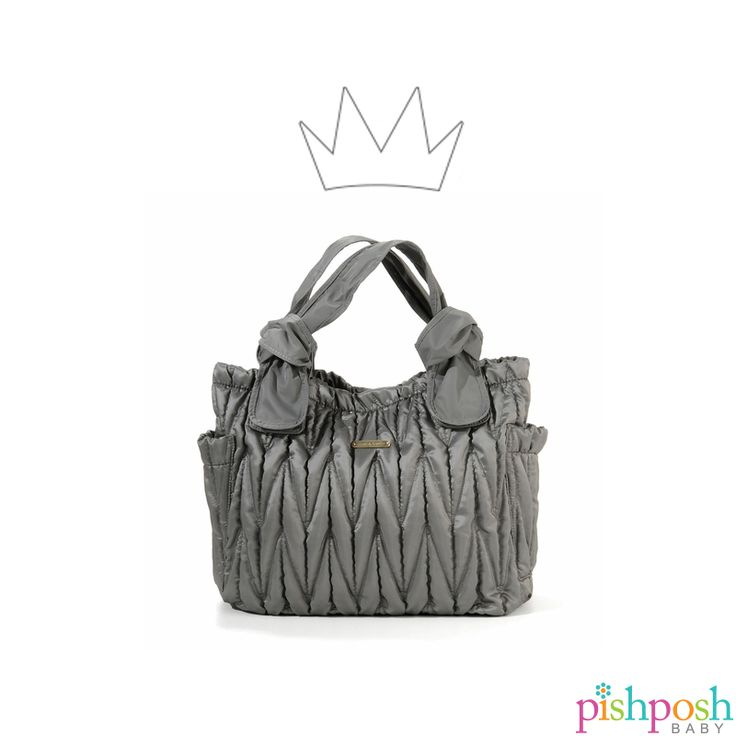 Statement Bag - FUCHIA ON GRAY by VIDA VIDA lEG9Fg8QG