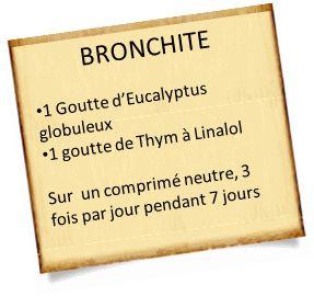 bronchite aigue et eucalyptus globulus