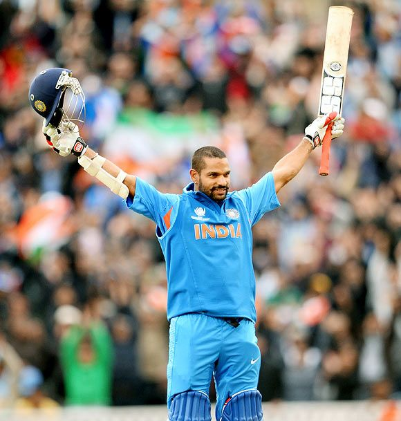 Shikhar Dhawan first came into limelight after his exploits in the 2003-04 under-19 World Cup. He scored 505 runs at 84.16 with three centuries.