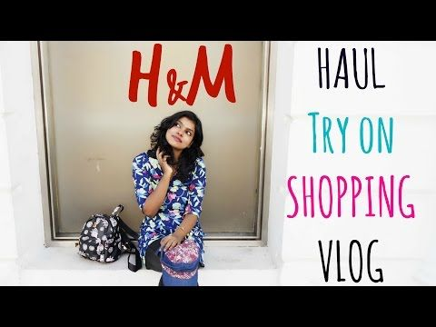 H&M Haul from H&M India where I do try on clothing haul from h&m India shop. The fashion haul is quite different as I show around the H&M shop and try the clothing in the trial room.