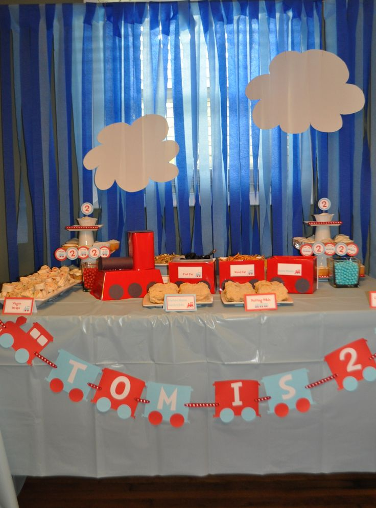 Train Party using printables I am using