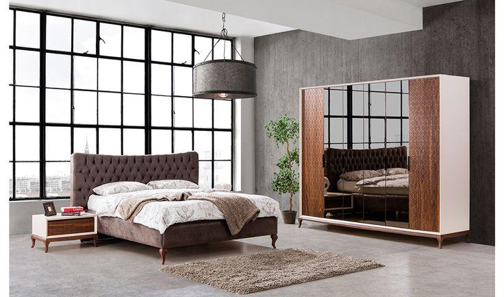 inegöl mobilya Perla Yatak Odası Takımı
