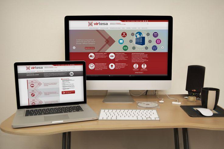 Diseño Pagina Web Virtesa implementado en Wordpress