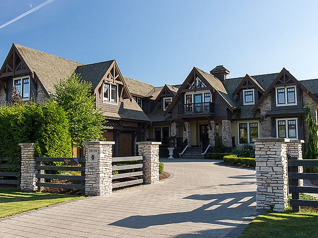 I liked this estate in Langley, Canada