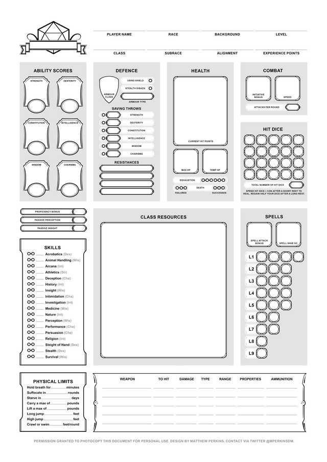 Character Sheet Final Dnd Character Sheet Rpg Character Sheet Character Sheet