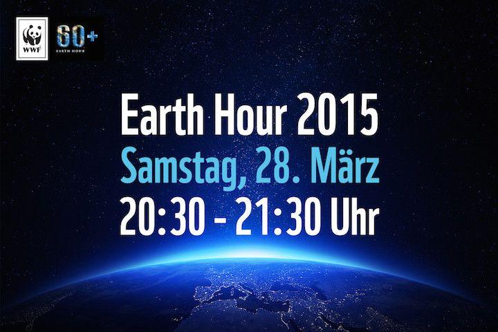 Am Samstag den 28. März 2015 ruft der WWF weltweit dazu auf an das Klima zu denken und Energie zu sparen. Von 20:30