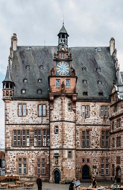 Marburg - Rathaus (Town Hall), Hesse, Germany