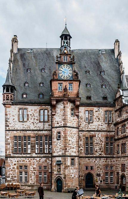 Marburg - Rathaus (Town Hall), Hesse, Germany