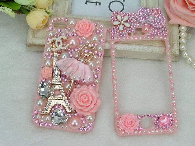 IPhone Case 4 4s Pink Ballet Girl CC