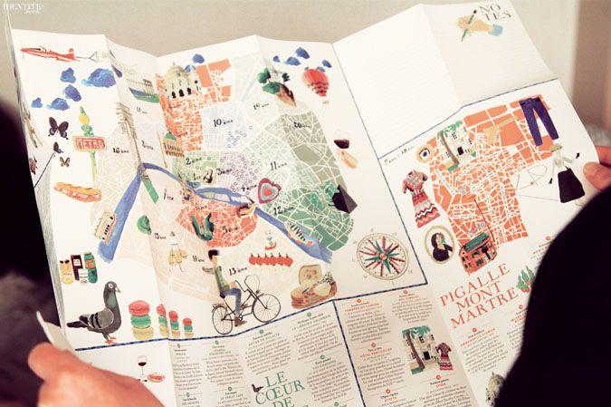 Bonjour Paris Carte Guide Paris #Map #Paris #guide - More on www.identitebook.com