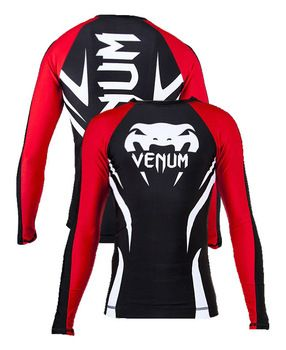 """Specifications  VENUM MMA Rash Guard, 4 way stretch material, 200 - 220 gsm, Spandex polyester.   We offer paypal for 100% secure business.   Features: Hayabusa MMA Rash Guard, 4 way stretch material, 200 - 220 gsm, Spandex polyester. . Flat lock Stitching  Custom Printed Logo Sizes 30"""",32"""",34"""",36"""",38"""",40"""" All color Combinations available"""