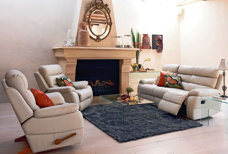 Dallas Leather Lounge Furniture by Morgan Furniture