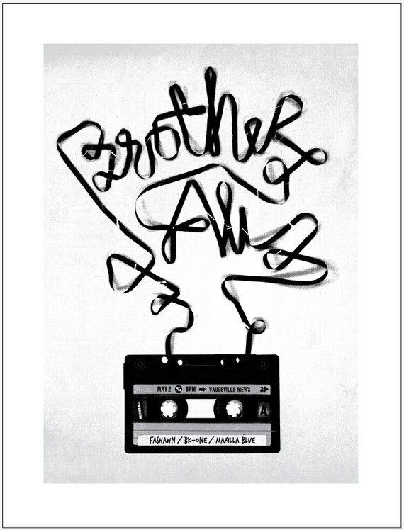 2010 Brother Ali Poster by BasemintDesignArt Design, Gigposters Com, Ali Posters, Graphics Design, Music Posters, Brother Ali, Hip Hop, Concerts Posters, Decks Album